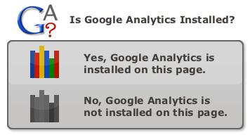 Google Analytics Check