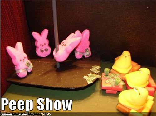 Funny Easter Peep Show