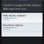 Siri Strip Clubs
