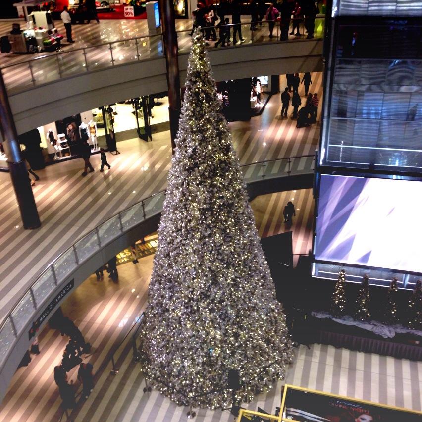 mall of america christmas tree - Mall Of America Christmas Decorations