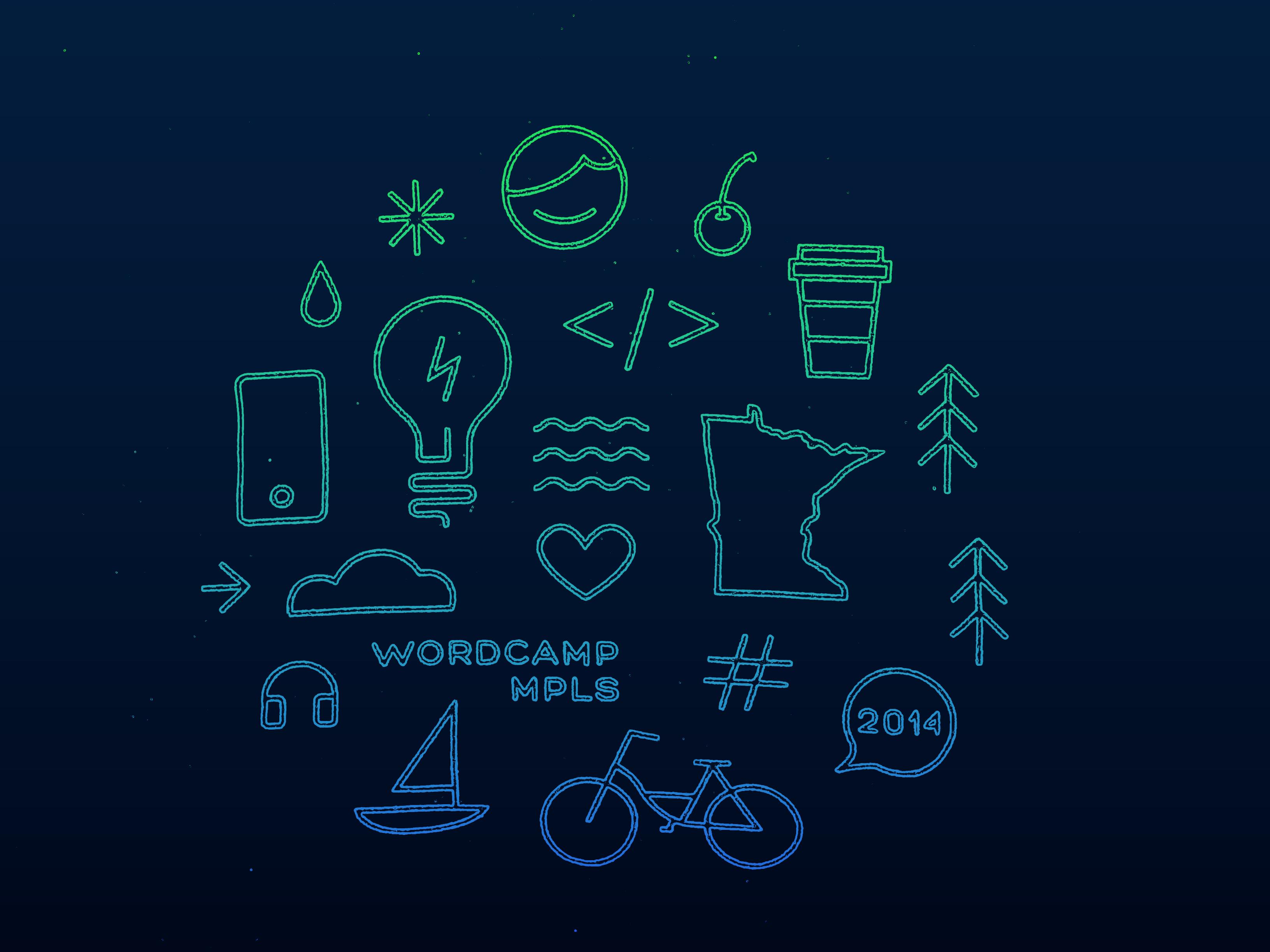 WordCamp Minneapolis At Night