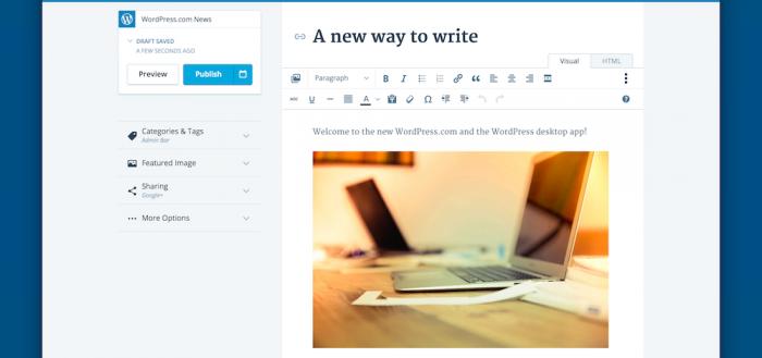 WordPress Mac Screenshot