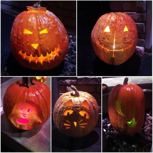 2016 Pumpkin Carvings